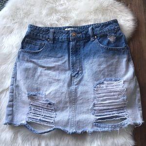 Forever 21 mini skirt size 26